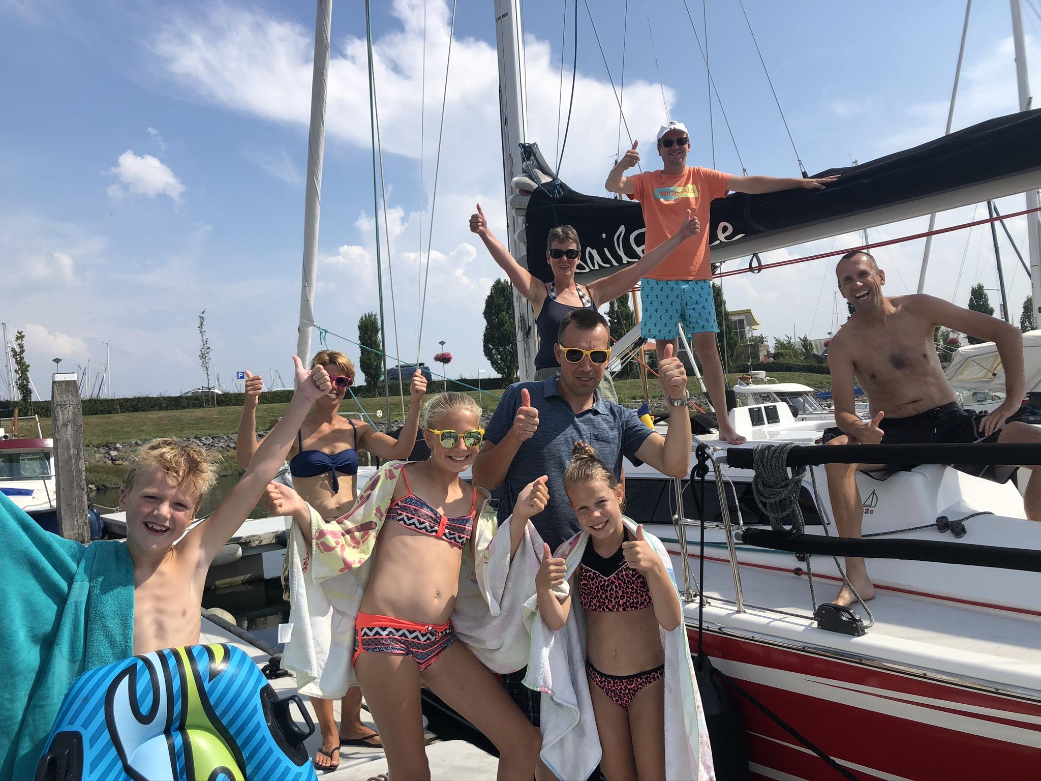 SailForce zomerzeilen oosterschelde wemeldinge
